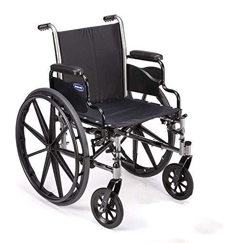 Invacare Tracer SX5 Wheelchair with Flip Back Desk Length Arms 18quot Seat Width TRSX58FBP