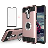 Phone Case for LG G7 ThinQ with Tempered Glass Screen