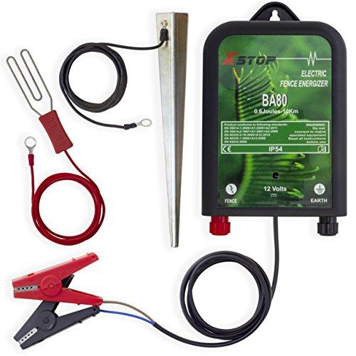 12 V batería 10 km para valla eléctrica rango de ENERGIZER 0.2J...