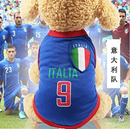 UD-strap NBA Jersey Camiseta De Perro De La Copa Mundial De Perro Ropa para Perros Pequeños Verano Chihuahua Tshirt Cachorro Chaleco Mascota Ropa S B