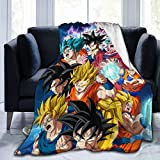 Soft Throw Blanket D-ragon B-All Z Warm Fleece Blanket for Sofa Couch Living Room 60 × 50 Inches -1