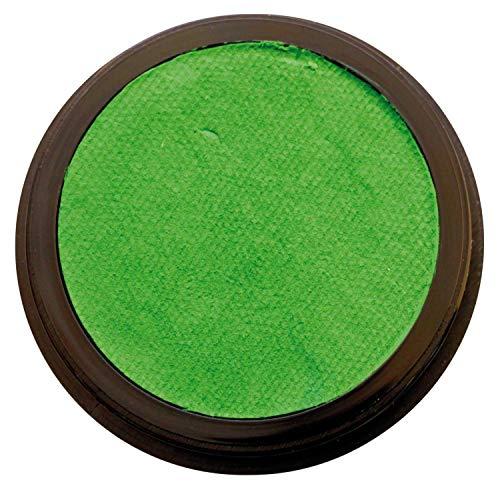 Eulenspiegel 184776 - Profi-Aqua Make-up Schminke - Grasgrün - 30g