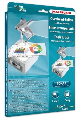 Data Becker 311204 Kleur-OHP folie voor laserprinter