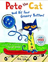 Pete The Cat and His Four Groovy Buttons Hardcover [並行輸入品]