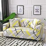 WXQY Fundas de sofá elásticas para Sala de Estar Funda de sofá Todo Incluido Estiramiento Protector de Muebles Fundas Sillones Fundas de sofá A12 2 plazas