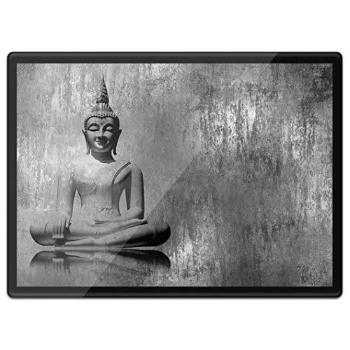 Destination Vinyl Ltd Quickmat - Mantel individual de plástico A3 – Cool Vintage Buddha Religion lugar de trabajo / mesa / alfombrilla / alfombrilla / alfombrilla / alfombrilla / alfombrilla / mousepable / impermeable # 41926