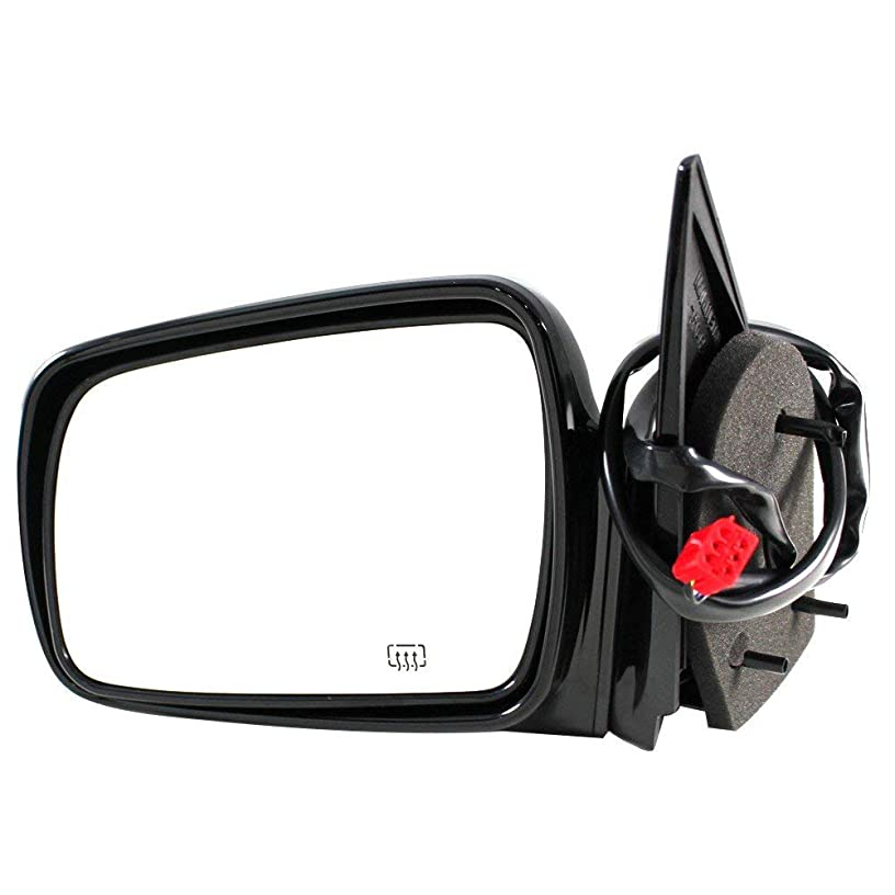 APDTY 066363 Power Side View Mirror Assembly (With Heat) Fits Driver Side Left 1993-1995 Jeep Grand Cherokee (Replaces 5DU41MC9, 5134999AA)