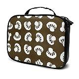 Bolsa de cosméticos de setas japonesas, bolsa de maquillaje, bolsa de aseo con cremallera, organizador de viaje para mujeres y niñas
