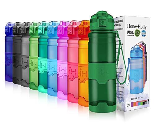 Botella para hidratacion deportiva elegante y resistente a golpes