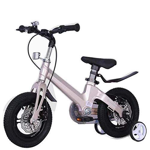 COUYY High-End-Kinder Fahrrad integriertes Rad 12/14/16 Zoll 2-9 Jahre altes Baby-Fahrrad-Kinderwagen Fahrrad für...