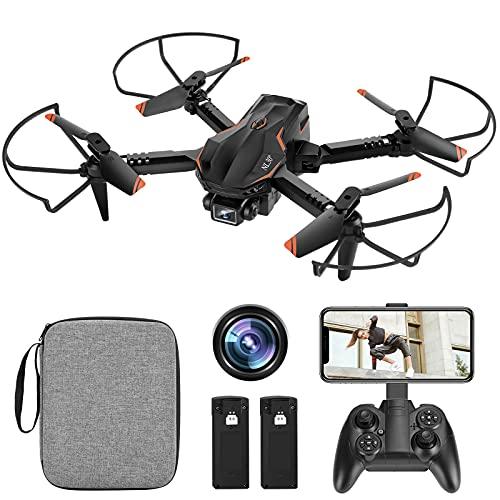 NL30° Mini Drone con Telecamera HD 1080P, Drone Quadricottero, Mantenimento dell'altezza, 3D Flip,...