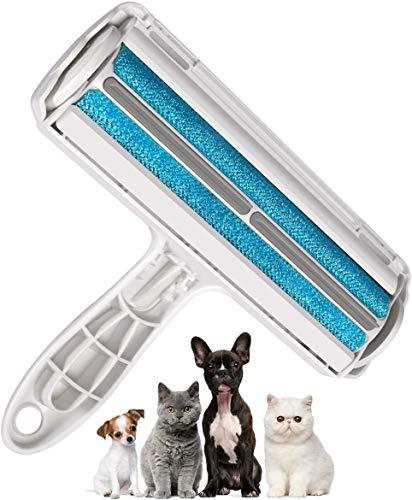 Rodillo removedor de pelo de mascotas ASSCA, cepillo reutilizable para perros y gatos, fácil de limpiar el pelo de mascotas de alfombra, muebles, alfombras, lavandería, ropa y ropa de cama, sofá