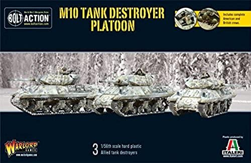 Bolt Action M10 Tank Destroyer Platoon by Bolt Action - US Army 28mm