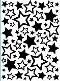 Darice Carpetas de estampación, Plantilla Estrellas, Plastic, 10,8 x 14,6 cm