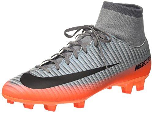 Nike Herren Mercurial Victory VI CR7 DF FG Fußballschuhe, Grau (Cool Grey/MTLC Hematite-Wolf Grey-total), 42 EU