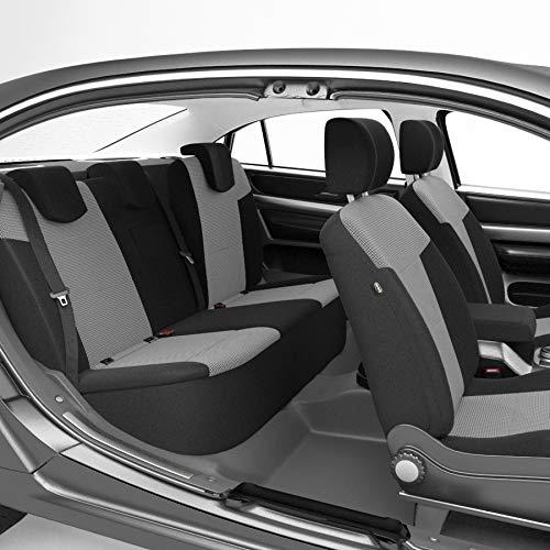 DBS - Housses de siège sur Mesure pour Duster (01/2018 à 2021) | Housse Voiture/Auto d'intérieur | Haut de Gamme | Jeu Complet en Tissu | Montage Rapide