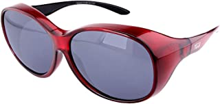 ActiveSol Gafas superpuestas Mega para señora | Gafas de Sol polarizadas para Poner Encima de Las Gafas | UV400 | para Coche y Bicicleta | Gafas sobre Gafas | Gafas polarizadas| 32 g