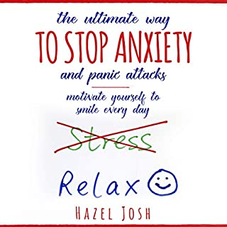 The Ultimate Way to Stop Anxiety and Panic Attacks audiobook cover art
