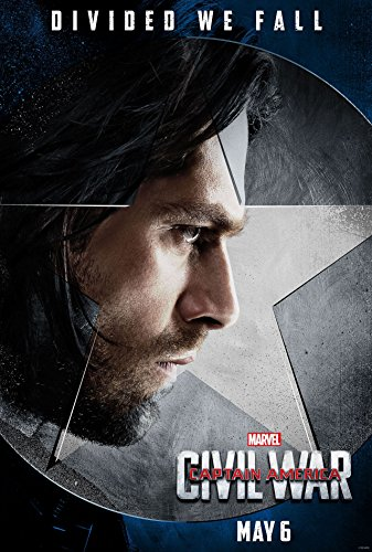 Captain America 3 : Civil War - US Imported Movie Wall Poster Print - 30CM X 43CM Winter Soldier