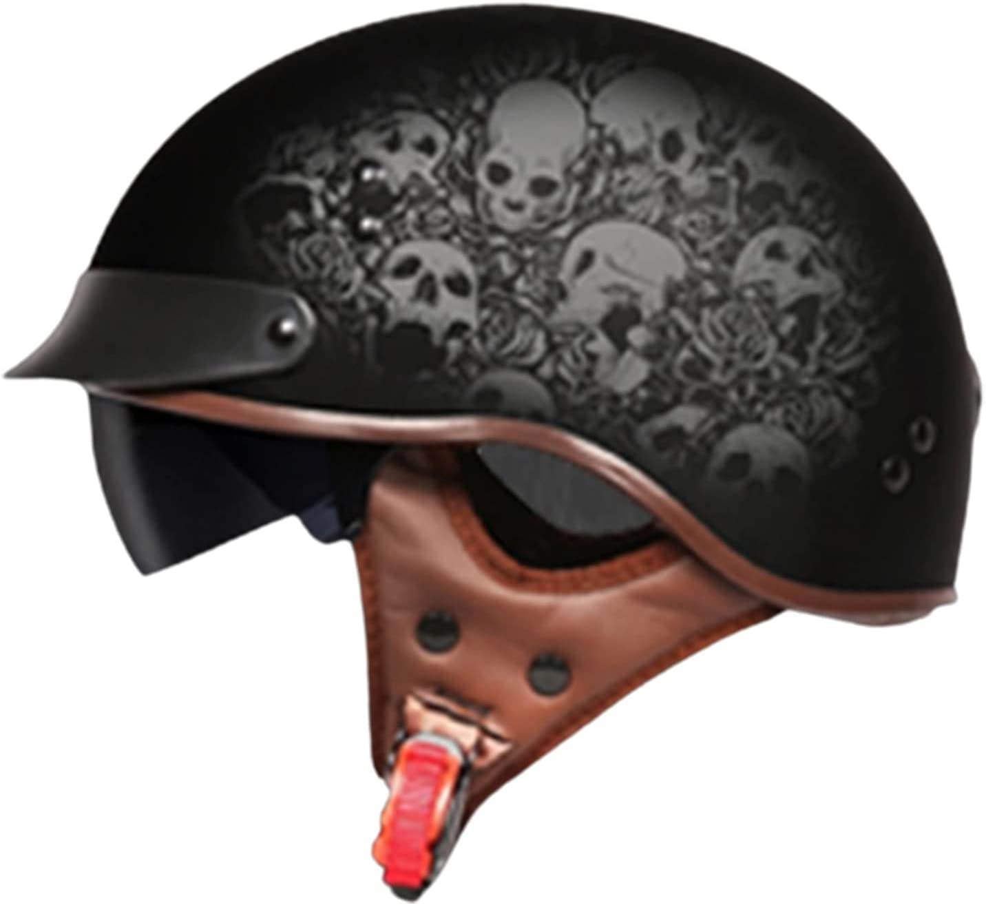 Motorcycle Helmet Male Personality Discount mail order Seasons Popular products Four Retro