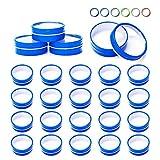 Dosen 134 Flaches Fenster Top Parent (Farbe) 2 oz blau