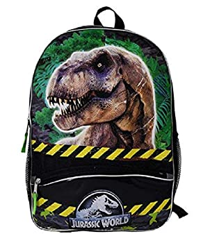 Fast Forward Jurassic Park 16  Backpack with 1 Lower Front Pocket