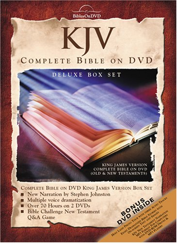 KJV Complete Discount is also underway Bible On DVD Financial sales sale Set Deluxe Box
