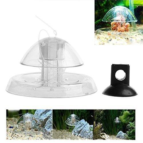 LANDUM Piège à escargots transparent pour aquarium Planarian Leech Catch Environnement