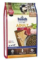 ボッシュ アダルト ラム&ライス 1歳以上 通常活動レベルの成犬用総合栄養食 全犬種用 ハイプレミアム ドッグフード 3kg