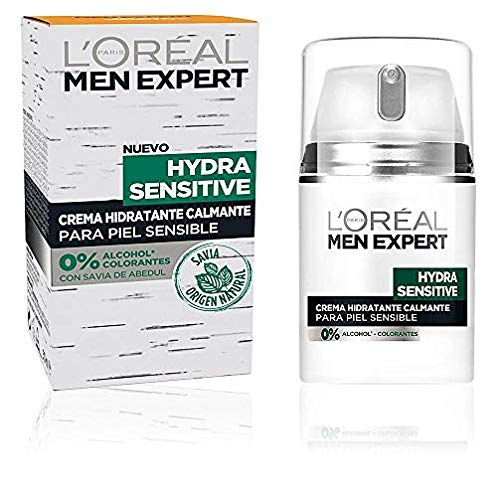 L'Oréal Paris Men Expert Hydra Sensitive Crema de día para hombre Pieles Sensibles - 50 ml