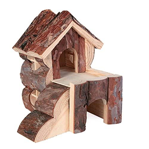 TRIXIE Natural Living maison Bjork, 15 × 15 × 16 cm, pour rongeurs