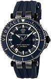 [ヴェルサーチ] 腕時計 V-RACEDIVER ブルー文字盤 VAK020016 並行輸入品 ブラック