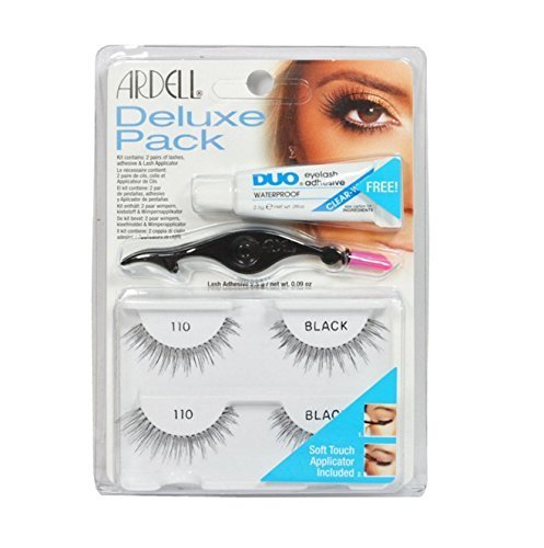 Ardell Eye Lash 110 Black Deluxe Pack **BCS_BZ** by Ardell