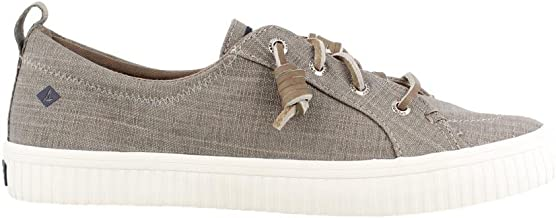 Sperry Womens Crest Vibe Creeper Scratch Linen