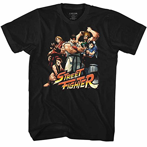 Street Fighter Video Martial Arts Arcade Game Cool Kids Adult T-Shirt Tee