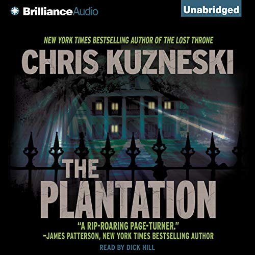 The Plantation audiobook cover art