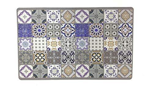 De'Carpet AlfombraTextil Hidráulica Original Moderna Reno (50x80cm)