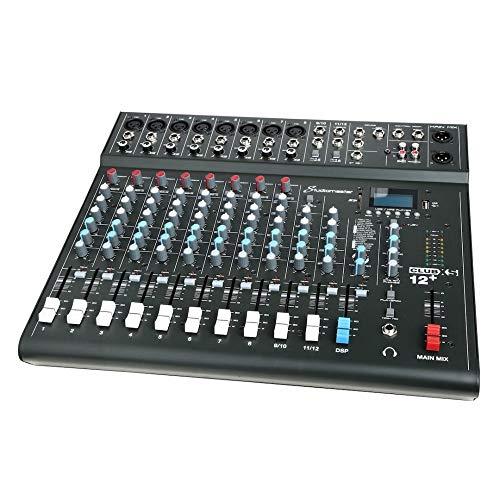 Resident DJ DJ-25 /• Mixer per DJ /• Mixer a 3//2 canali /• Mixer per DJ /• USB /• MP3 /• Bluetooth /• 2 ingressi Linea//Cinch Phono /• Controllo Cue /• Sezione Microfono /• XLR-//Ingressi Jack /• Blu
