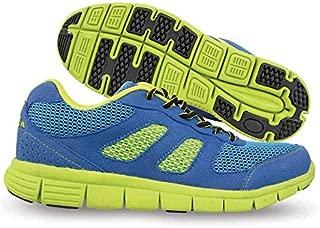 Nivia Men's Mesh PU Blue and Green Running Shoes - 6 UK