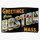 Amelius from Greetings Poster Boston, Beeindruckende Poster