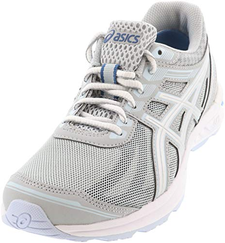ASICS Women's Gel-Sileo Running Shoes, 9.5M, MID Grey/Silver