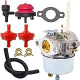 Best Toro Tillers - 631954 Carburetor for Tecumseh 632371 632371A 631954 631870 Review
