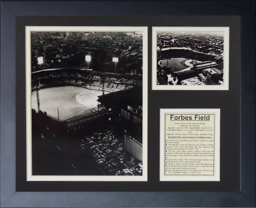 "Pittsburgh Pirates - Forbes Field 11"" x 14"" Framed Photo Collage by Legends Never Die, Inc."