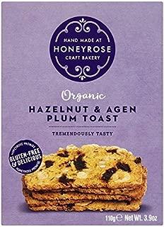 Honeyrose Hazelnut & Agen Plum Toast - 110g (0.24lbs)