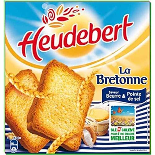 LU HEUDEBERT - Biscotte La Bretonne Sel De Guérande 290G - Lot De 3