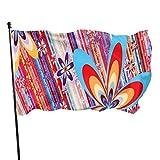 Carolyn Berns Flower Power Flagge Garten Fahne Außen Fahne Haus Flagge Fahne Flagge Fahne Fahne Flagge 3 x 5 Füße