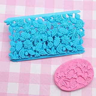 Zandreal DIY Cake Cookie Mould Embosser Cutter Baking Plastic Fondant Decorative Tool Mold