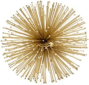 Modern Day Accents5067Pilluelo Urchin Small Gold SphereModern Day Accents Pilluelo Urchin Small Sphere, Gold, Modern, Filler, Tabletop, Bowl, Round, Balls, Spikey, Spikes, Urchin, Sea, Iron, 6