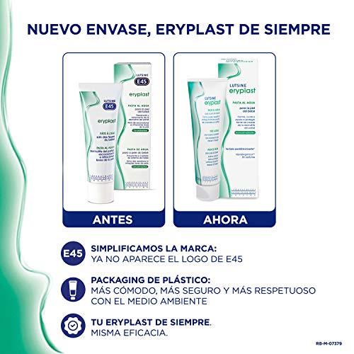 Eryplast Lutsine E45 - Pasta al Agua para la Piel del Bebé - Crema Pañal, Multicolor, 2 x 125 gr, 250 gr