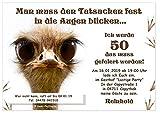 Einladungskarten Geburtstagsfeier Fete Party Wunschtext originell lustig witzig originell -